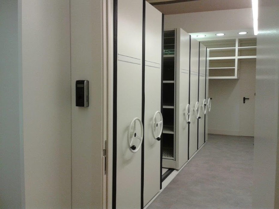 Estantes Para Archivos Oficina.Estanterias Para Archivo En Barcelona Bcn Equipamientos